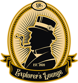 Logo, Cigar Shop, Store, Tabacco Logo, Explorer Lounge, SJRs