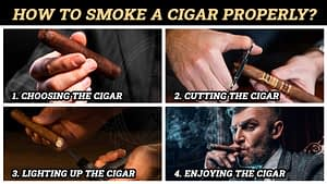 How to smoke a cigar properly